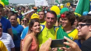 bolsonaro manifestação