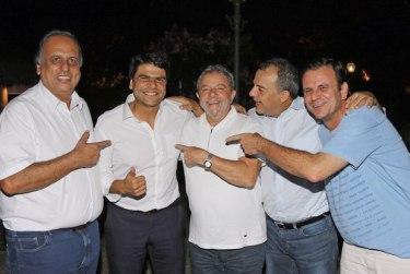 Lula PMDB RJ